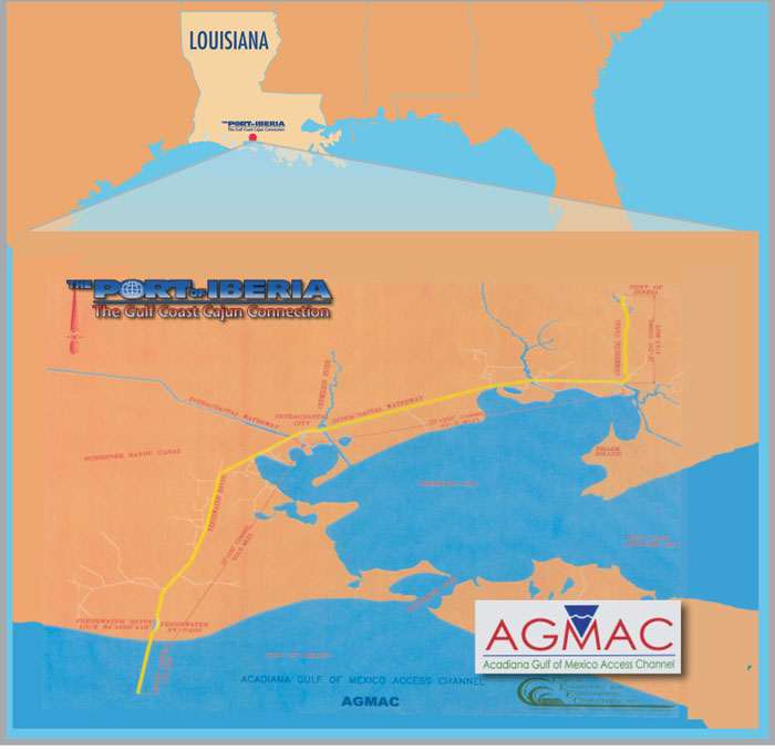 Acadiana Gulf of Mexico Access Channel