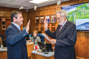 Swearing in of Shane Walet as a Port of Iberia Board Member