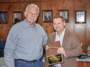 "Photo of Mark Doré recently selected as Port of Iberia Board President replacing outgoing President E.R. ""Smitty"" Smith, III."